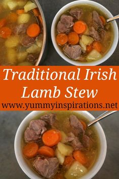 Irish Lamb Stew Recipe – How to make an easy traditional and authentic Irish Stew with lamb and vegetables. With the step by step video tutorial.