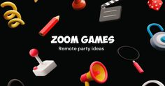 Curated list of fun games to try on your next video call, with friends, family or colleagues Resume Advice, Job Resume, Fun Games, Party Games, App Zoom, Game Remote, Next Video, Try On, Friends Family