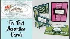 Tri-Fold Accordion Card | Three Ways!