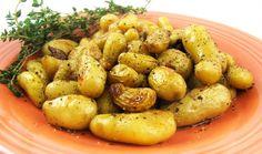 Teeny Tiny Potatoes with Sweet Roasted Garlic