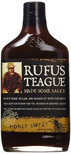 Rufus Teague Honey Sweet BBQ Sauce, 16 oz(454g) (2-Pack) -- Insider's special review you can't miss. Read more