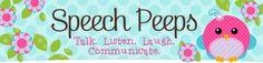Speech Peeps Shop