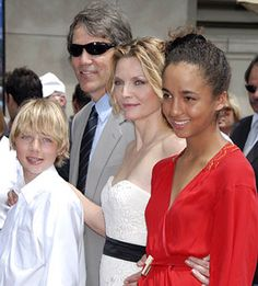Michelle Pfeiffer adopted her daughter Claudia Rose in 1993.