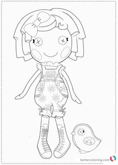 Free Lalaloopsy Coloring Pages For Kids And Adults