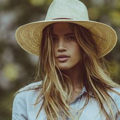 Rocky Barnes looks like a total babe in our Brixton Bristol Panama Hat #NastyGalsDoItBetter || Shop the hat: http://www.nastygal.com/product/brixton-bristol-panama-hat?utm_source=pinterest&utm_medium=smm&utm_term=nastygals_do_it_better&utm_campaign=influencer