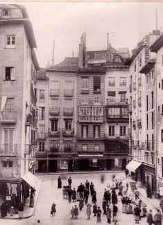 #Pamplona #Navarra. La Plazuela del Ayuntamiento en 1906.
