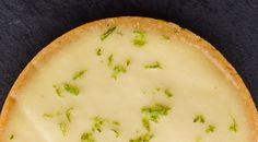 Le chef d'oeuvre de Jacques Génin : la tarte au citron vert et basilic. Un délice de saveurs acidulées.