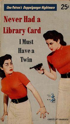 Librarians go pulp. — Bookshelves of Doom