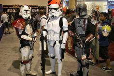 Stormtroopers and Boba Fett | by PACsWorld