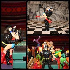 @atomsvolume #ToTheBeat music video w/ #Batman #Wonderwoman #Joker #DanceParty #Romance