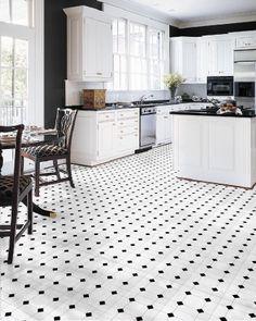 Black And White Kitchen Vinyl Flooring granada sheet vinyl flooring. 2 metre wide roll | granada