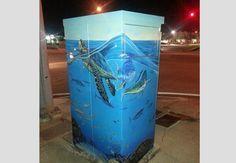 - Fort Lauderdale is now part of - Lauderhill Fine Arts Major, Electric Box, Urban Street Art, Outdoor Art, Public Art, Box Art, Art Forms, Murals, Arts And Crafts