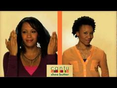 Cantu Shea Butter Leave in Conditioning Repair Cream - YouTube