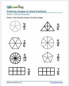Worksheets For Grade 3, Fractions Worksheets, Free Math Worksheets, Improper Fractions, Comparing Fractions, Good Study Habits, Fraction Word Problems, Math Sheets, Online Lessons