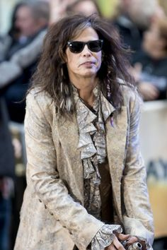 "Steven Tyler in concert | Aerosmith - Aerosmith in Concert on NBC's ""Today Show"" at Rockefeller ..."