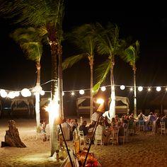 Reception on Las Cuevas Beach at Four Seasons Punta Mita