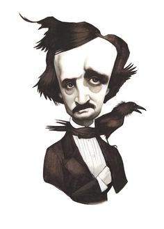 Edgar Alan Poe ★ Find more at http://www.pinterest.com/competing/