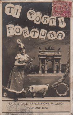 Cartolina panoramica ricordo