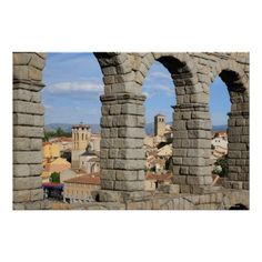 Segovia, Spain is a UNESCO world heritage site