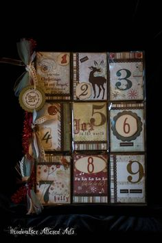 """Nine Days Of Christmas"".jpg - Photos - Beth - Members - Pocket Letter Pals"