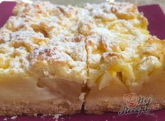 Recept Fantastický koláček jablíčka v oblacích Poppy Seed Kolache Recipe, Cream Cheese Kolache Recipe, Unique Recipes, Sweet Recipes, Pancake Roll, Prague Food, Sweet Dough, Sunday Recipes, Czech Recipes