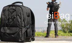 Tas ransel atau tas backpack dengan kode 1705 adalah salah satu produk tas Bandung dengan merk EIBAG. Fungsi utama dari tas ini adalah untuk membawa kamera dan juga laptop.  DIMENSI :      Ukuran Luar : 40 x 30 x 18 Cm,     Ukuran Dalam (Kamera) : 39 x 29 x 13 Cm ,     Ukuran Dalam (Laptop) : 39 x 29 x 5 Cm  KAPASITAS :      1-2 SLR lensa terpasang, 4 lensa, 1 flash, aksesoris – Laptop maksimal 12″, TRIPOD HOLDER  RAINCOVER / PARASIT PELINDUNG HUJAN      sudah termasuk dalam pakaet penjualan