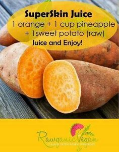 I had no patience to measure so I used 2 cara cara oranges, 1 sweet potato and 8 oz of pineapple. - Delicious! Tastes like a jamba juice :)