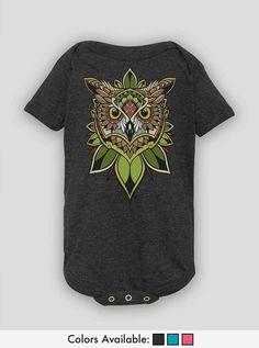 Shirt Owl T Shirt, Onesies, Product Description, Cotton, Mens Tops, Baby, Shirts, Clothes, Vintage