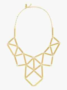 turn the corner statement necklace