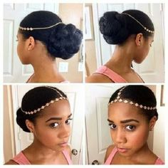 goddess headband for gorgeous natural hairstyle