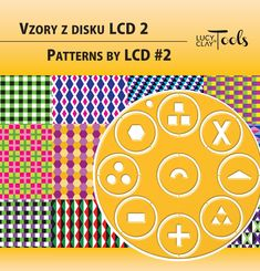 Patterns by LCD #2 | Vzory z disku LCD 2
