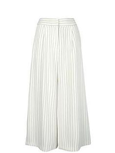 FINDERS KEEPERS New line Pinstripe Culottes- White Pinstripe