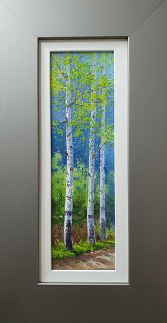 Collage Landscape, Watercolor Landscape Paintings, Keto Fudge, Watercolor Pencils, Aspen, Monet, Pencil Drawings, Woodland, Trees