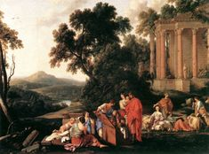 Laurent_de_La_Hyre_-_Laban_Searching_Jacob's_Baggage_for_the_Stolen_Idols_-_WGA12321.jpg (1039×770)