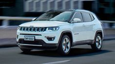 2017 Jeep Compass lead front
