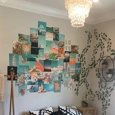 Your place to buy and sell all things handmade Mellow Sunshine Collage Kit Collage Wall Decor Collage Mural, Wall Collage Decor, Bedroom Wall Collage, Photo Wall Collage, Pic Collage Ideas, Wall Decor, Collage Pictures, Photo Collages, Cute Bedroom Ideas