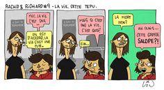 uzunagaz: Rachid & Richard # 9 - La vie, cette tepu