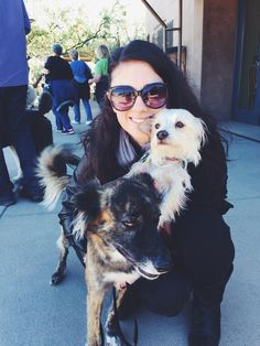 I brought my pups to the @dbgtweet yesterday for Dog's Day in the Garden. What a treat :-) Joelle Martin @joellemartin_