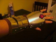 silver gauntlets by warground-inc Link Costume, Legend Of Zelda, Cosplay, Deviantart, Artist, Silver, Costumes, Manualidades, Dress Up Clothes
