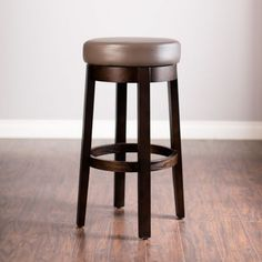 Taylor Bar Stool in Taupe | Jerome's Furniture
