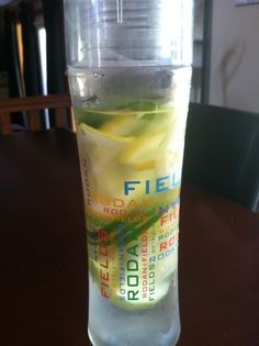 Drink up...use natural flavorings to spice it up! #RFSkintervention