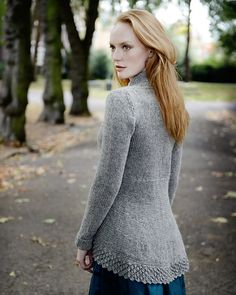 Ravelry: Isis Tailcoat pattern by Kari-Helene Rane (I could see @Sonja Barneveld in this)