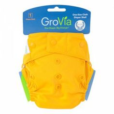 $17.95 - The GroVia Shell in 'Mandarin' - hook & loop with snap in inserts