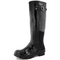 Women's DailyShoes Knee High Hunter Rain Round Toe Rainboots ^^ Discover this special boots, click the image : Boots Mid Calf