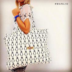 ⭐ ️SALDI ⭐️Ultimi giorni! Penguin bag €32 -30%= €22,50 #manlioboutique  Per spedizioni: WhatsApp 329.0010906 #sea #beach #sole #mare #borse