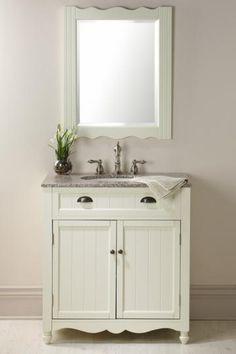 bathroom vanity with beadboard   Bathroom Vanities Bathroom Cabinets Laundry Hampers Bathroom ...
