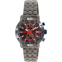 Invicta Men's Speciality 18183 Grey Stainless-Steel Quartz Watch