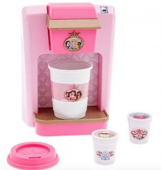 Brew up playtime fun with this Disney Princess Play Gourmet Beverage Maker. Lift the top to place a flavor pod in the machine, then our toy coffee maker dispenses authentic brewing sounds when the button is pressed. Baby Dolls For Kids, Little Girl Toys, Toys For Girls, Kids Toys, Cool Girl Toys, Kids Toy Shop, Toys Shop, Objet Wtf, Little Disney Princess