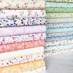 Lecien Flower Fields Sushi Roll Jelly Roll Fabric Strips