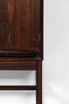 Arne-Wahl Iversen bar cabinet in rosewood at Studio Schalling